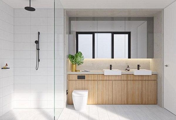 Tổng hợp mẫu thiết kế phòng tắm 4m2 6