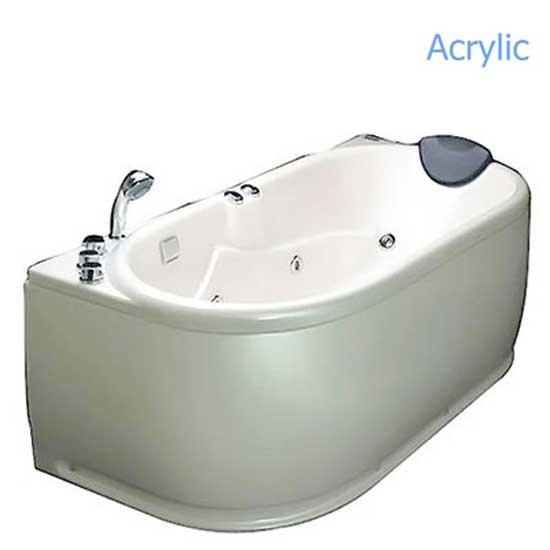 Bồn tắm massage Acrylic MICIO WM-160R (Yếm phải)