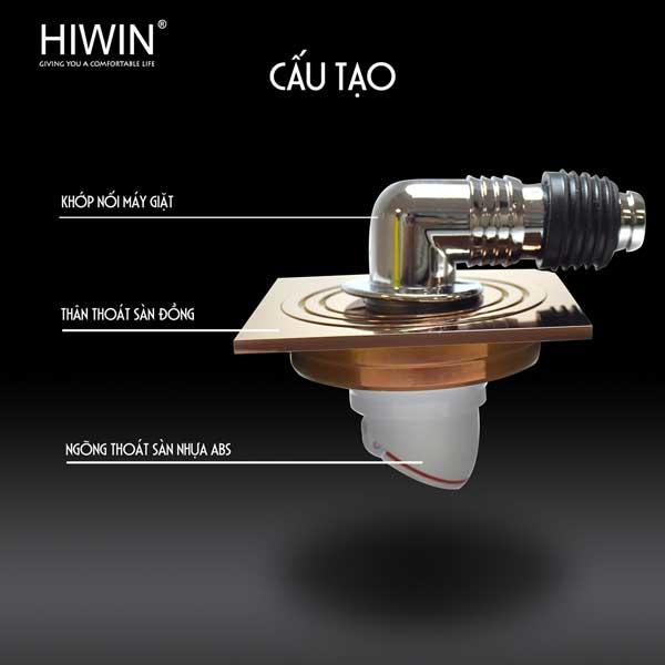 Ga thoát sàn Hiwin FD-1151W