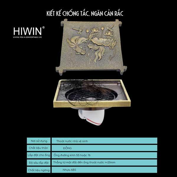 Ga thoát sàn Hiwin FD-4708