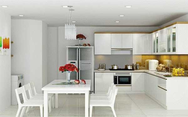 Các lưu tâm cơ bản khi xây dựng phòng bếp đẹp nhà ống 1