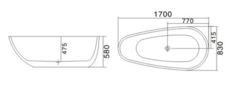 Bồn tắm Sewo DT-3005W