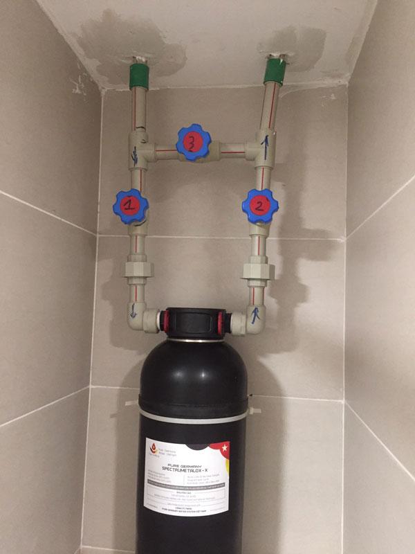 Bộ lọc nước Pure Germany Spectrumetalox - X