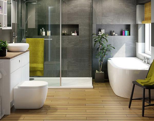 Sự kết hợp thiết bị vệ sinh Trung Quốc cho phòng tắm 4
