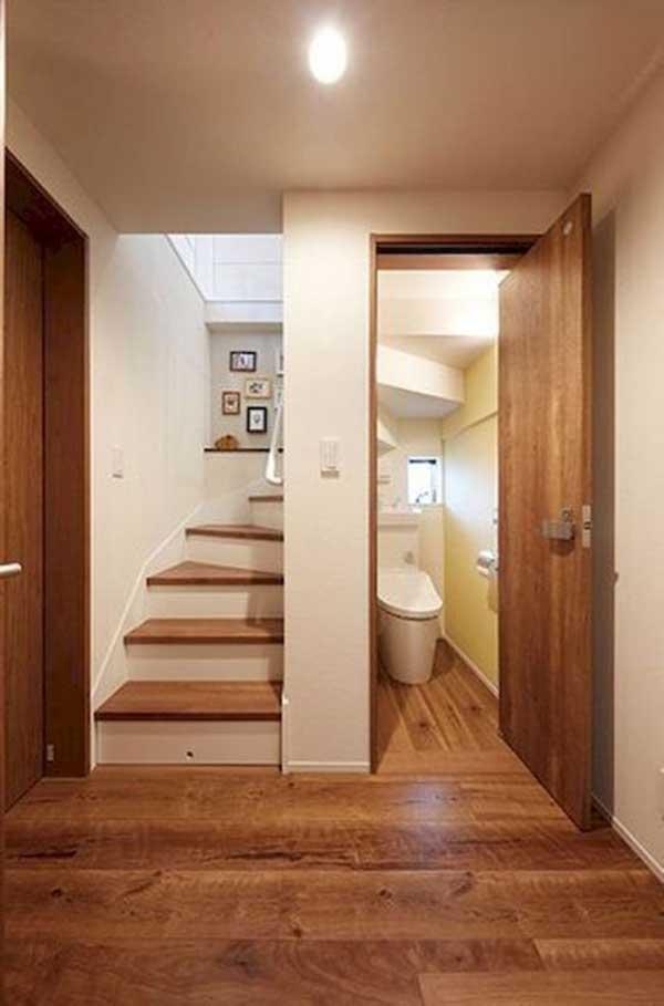 Một số mẫu nhà vệ sinh dưới gầm cầu thang đẹp tham khảo 4