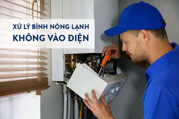 Nguyên nhân và giải pháp bình nóng lạnh không vào điện