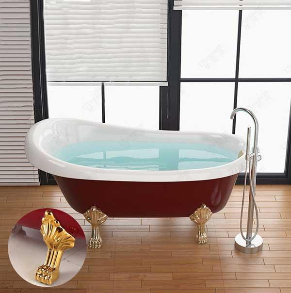 Mẫu bồn tắm chân rồng sang trọng đẳng cấp nhất hiện nay