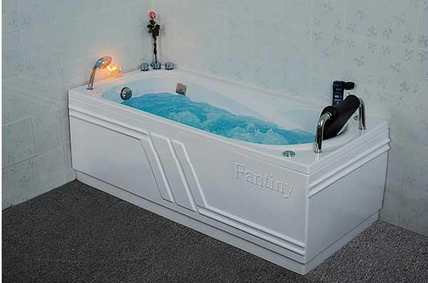 Bồn tắm massage Fantiny MBM-160R (Composite, Yếm phải) 1