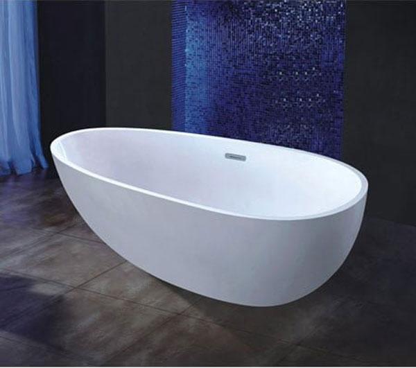 Một số mẫu bồn tắm nằm đặt sàn đẹp 1