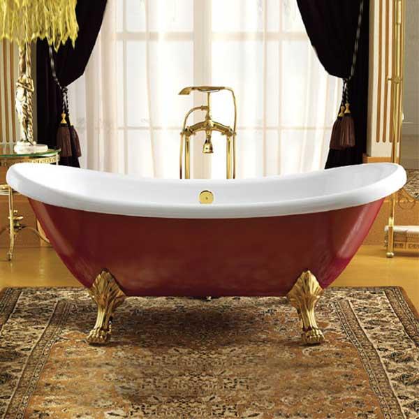 Các mẫu bồn tắm có kích thước nhỏ 1