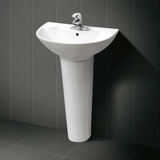 Giá chậu rửa lavabo Inax L-288V (màu trắng) 1
