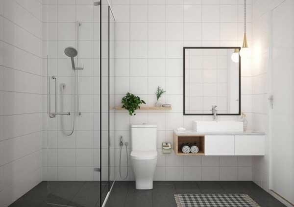 Chiều cao mặt trần vệ sinh nên để bao nhiêu? 1