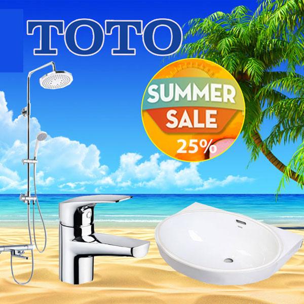 Chương trình khuyến mãi mùa hè Toto 2021