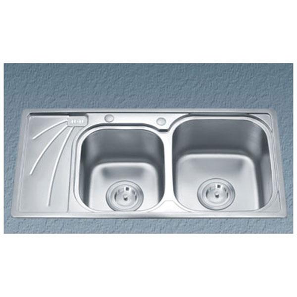 Chậu rửa bát Gorlde GD-9037 (inox 304) 1