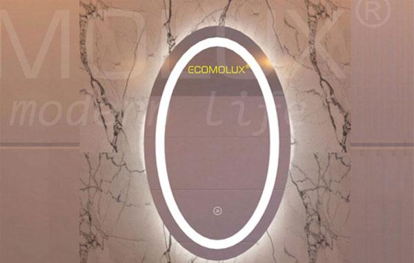 Gương Elip trong phòng tắm 2
