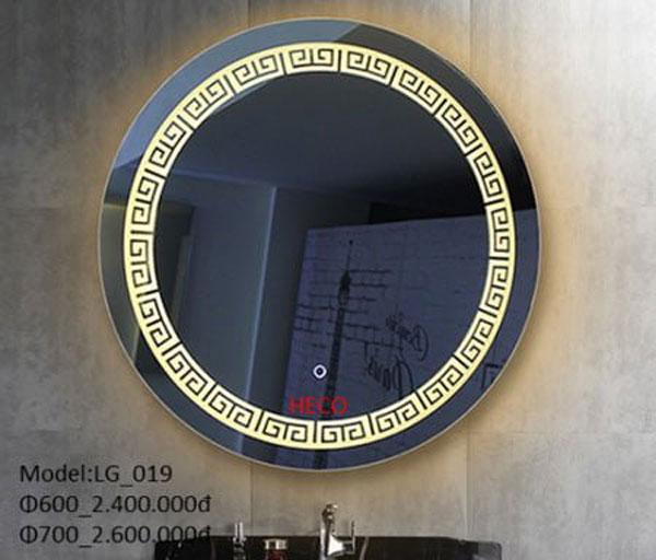 Gương đèn led phòng tắm 2