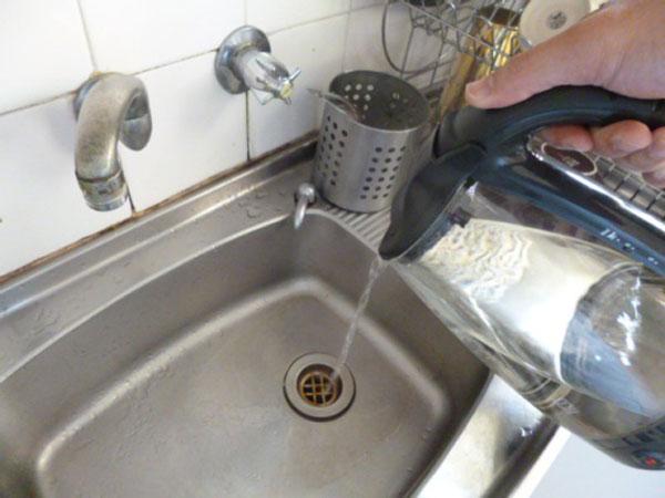 Khắc phục bằng cách sử dụng nước sôi 1
