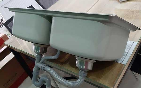 Chậu rửa bát Sơn Hà Premium S82 X1.3