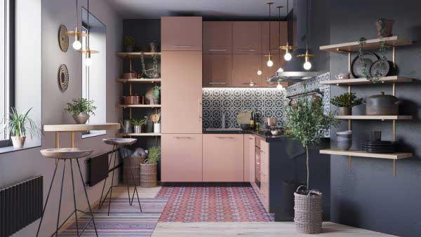 Những mẫu thiết kế nhà bếp diện tích nhỏ đẹp nhất 3