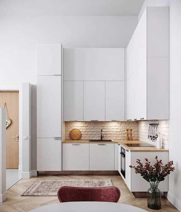 Tủ bếp hình chữ L 1