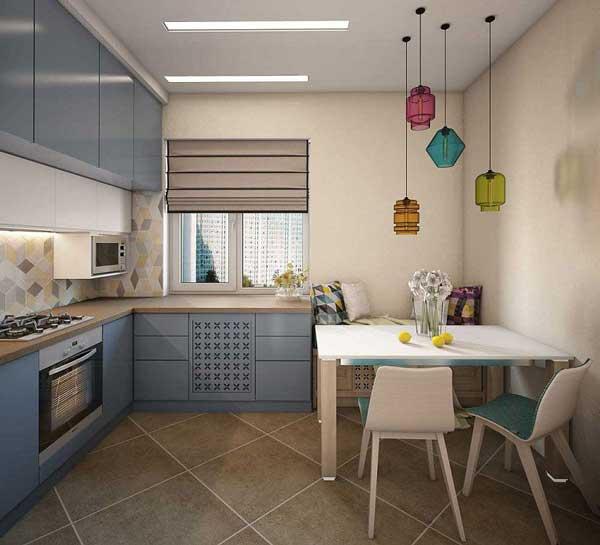 Những mẫu thiết kế nhà bếp diện tích nhỏ đẹp nhất 1