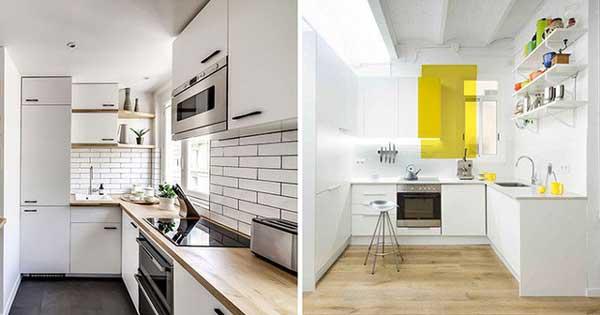 Những mẫu thiết kế nhà bếp diện tích nhỏ đẹp nhất 2