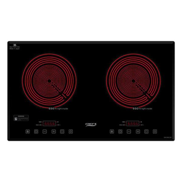 Bếp hồng ngoại đôi Chefs EH-DHL321 1