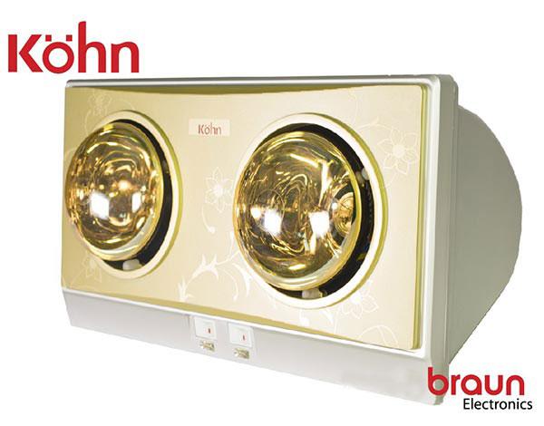 Đèn sưởi nhà tắm Braun Kohn KP02G 1