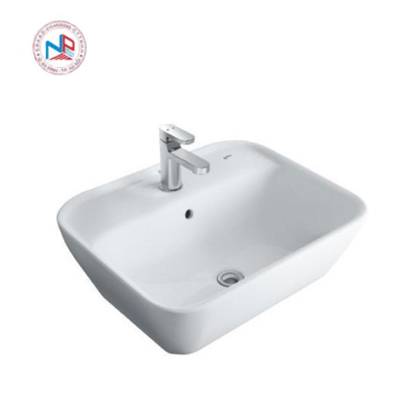 Chậu rửa mặt đặt bàn lavabo Inax AL-296V(EC/FC) 1