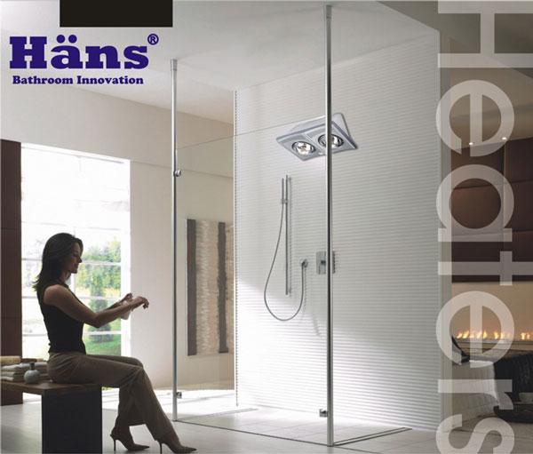 Đèn sưởi nhà tắm Hans 1