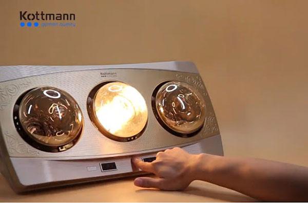 Đèn sưởi nhà tắm Kottmann 1