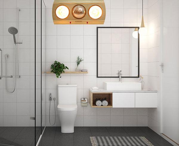Cách chọn đèn sưởi nhà tắm phù hợp 1