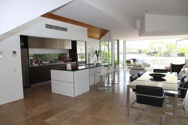Thiết kế phòng bếp không gian mở 1