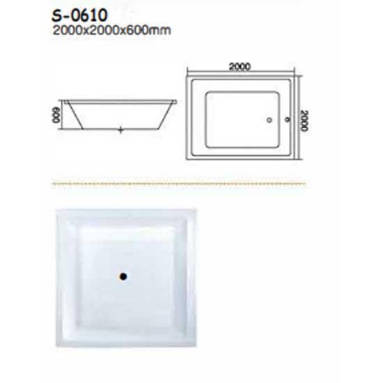 Bồn tắm xây Sewo S-0610