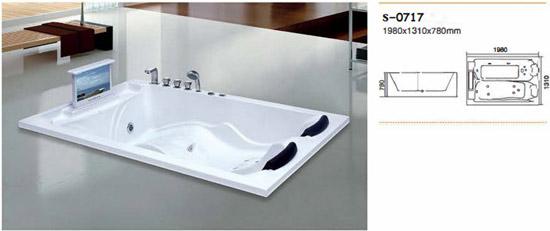 Bồn tắm massage Sewo S-0717