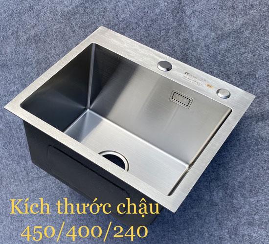 Chậu rửa bát Kagol 4540 Inox 304