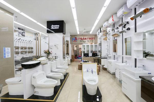 Showroom inax tại Hà Nội 1