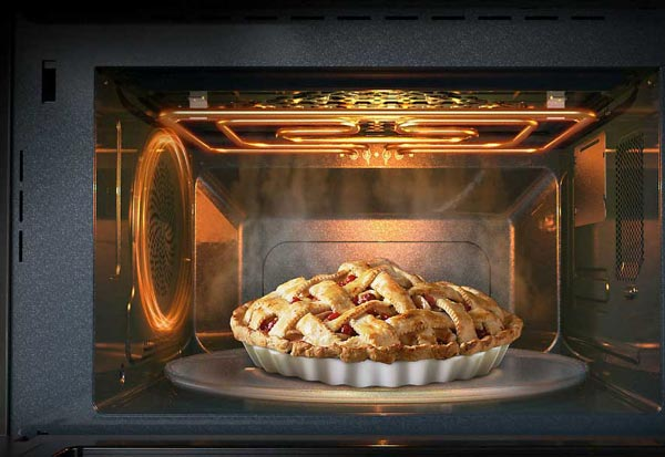 Lò vi sóng có thể nướng bánh được không
