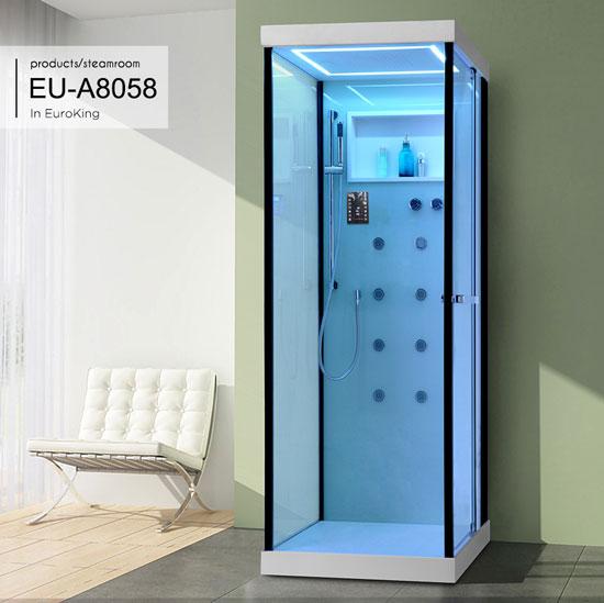 Phòng tắm vách kính EuroKing EU-A8058