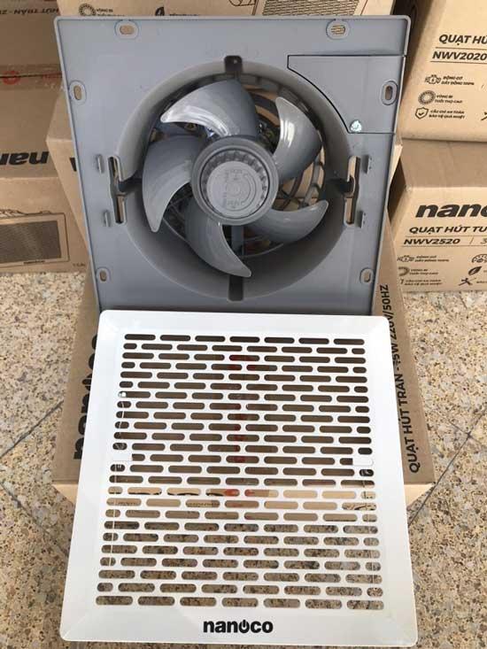 Quạt hút thông gió Nanoco NCV2020-C